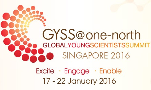 Nominated for: Global Young Scientist Summit 2016